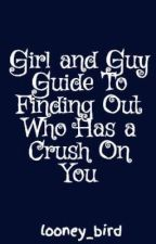 Girl and Guy Guide To Finding Out Who Has a Crush On You by looney_bird