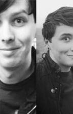 Dan x reader x Phil, A love story.. by evalovesdan