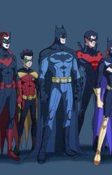 Bat Family Reunion by MarvelandDCunite
