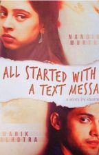Manan ff:It all started with a text message(on hold) by sharmishta666