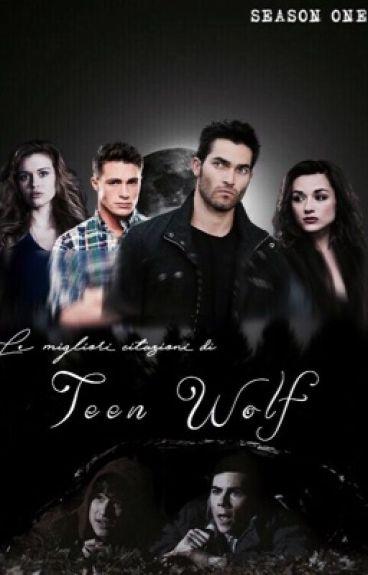 Le migliori citazioni di Teen Wolf    Prima Stagione