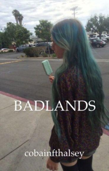 badlands; l.r.h.