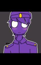 Fnaf Purple guy x phone guy by Oreo_KarkatMaster