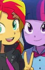 Your my SunLight ( Sunset Shimmer x Twilight Sparkle ) My Little Pony by littlegaylemon