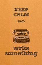 Retos de escritura by daphneshummingbird