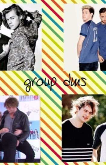group chats with 1D & 5sos