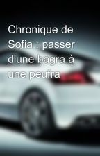Chronique de Sofia : passer d'une bagra à une peufra by Descartes599