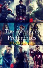 Avengers preferences by princessxiuxiu