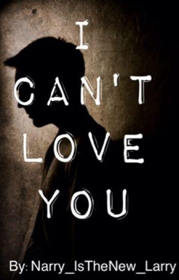 I Can't Love You(Steo!AU)