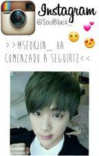 Instagram; Jin BTS by soulblack_