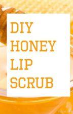 DIY Honey Lip Scrub by craftdiygirl