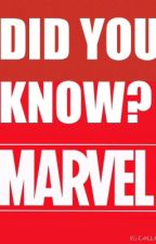 Did You Know (Marvel) by Fluffersnaps