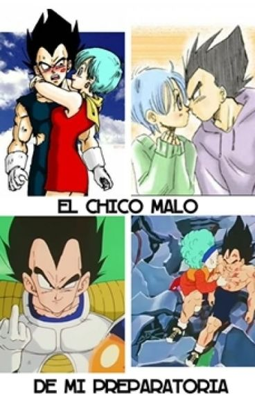 El chico malo de mi preparatoria - Vegeta y Bulma