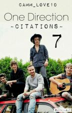 One Direction ~Citations~ 7 by CamM_Love1D
