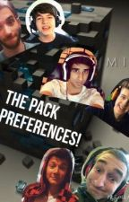 The pack preferences! by ElizabethSmith074