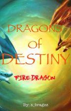 The Dragons of Destiny: Fire Dragon by s_bragzz
