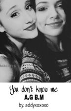 You don't know me (Lesbian Stories) by addyxoxoxo