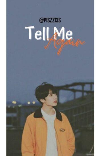 Tell Me Again [VKook/TaeKook]