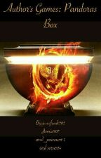 Author Games: Pandora's Box by jesusfreak202