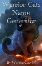 Warrior Cats Name Generator by WarriorCats48