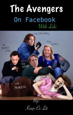 Avengers + Loki on Facebook. by Keep-Er-Lit