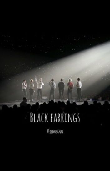 Black earrings • bts