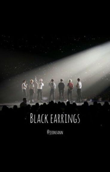 Black earrings • bts