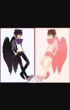Highschool Angels(Pit X Dark Pit) by ichimatsukin