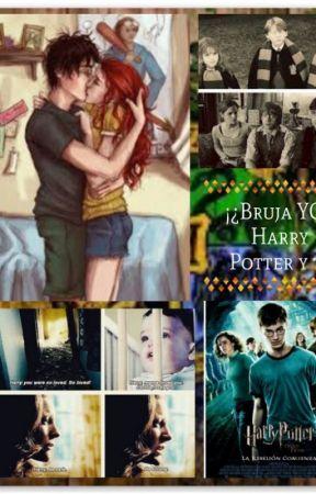 ¡¿Bruja yo?! (Harry Potter y tú)[Editando] by marfer200