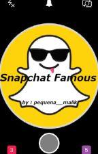 Snapchat Famous by pequena__malik