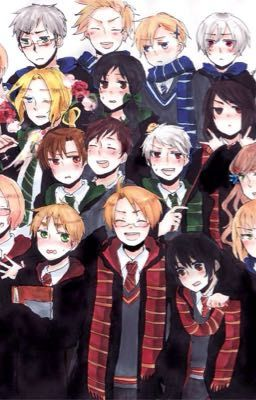 Hetalia x hogwarts
