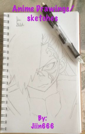 Anime Drawings/sketches by Jiin666