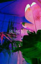 falling in love;  ↬jungkook by joonmoon