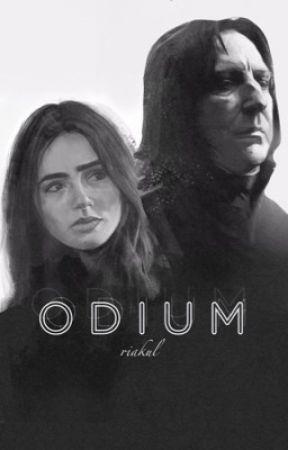 Odium (Severus Snape Fanfic) {Wattys 2016} by riakul