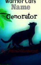Warrior Cats Name Generator :D by _MaliceInWonderland_