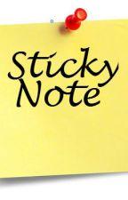 Sticky Note [Short Story] by katengadriano