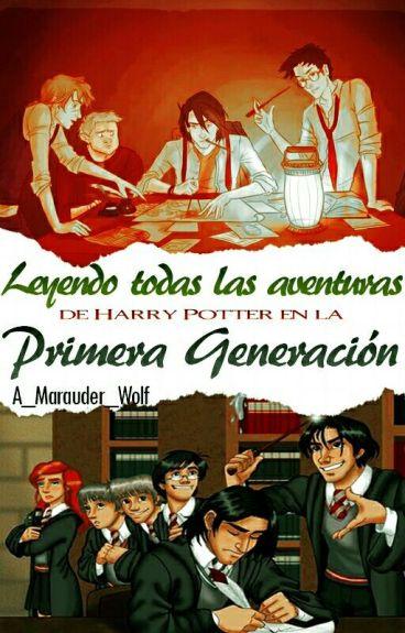 Leyendo todas las aventuras de Harry Potter en la primera generación