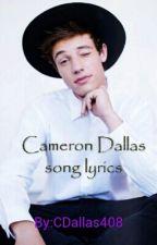 Cameron Dallas song lyrics by CDallas408