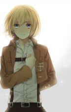 Armin X Reader by NerdCatBoii