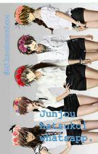 Junjou Hatsukoi Whatsapp by LuzCele05
