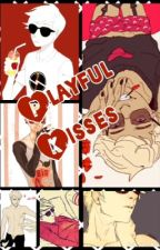 Playful Kisses   Dave x Reader by XXLunar_DragonXX