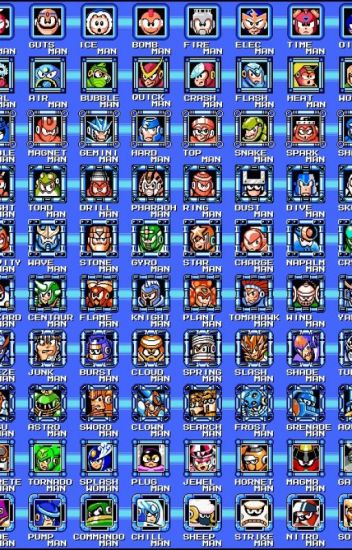 Megaman Robot Masters x Reader (REQUESTS CLOSED)
