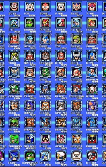 Megaman Robot Masters x Reader