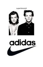 nike meets adidas ; larry au by cypherfttae