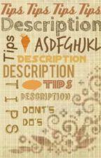 Description Tips! by UnavailableUsername