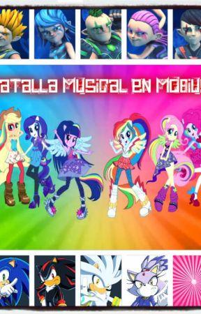 Batalla musical en el planeta mobius (Editando) by Sonia201994
