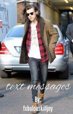 text messages ➳ larry stylinson by fxbulouskilljoy