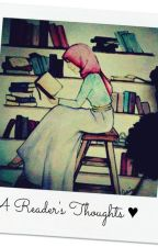 A Reader's Thoughts ♥ by smilingissunnah