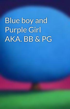 Blue boy and Purple Girl AKA. BB & PG by JazEli