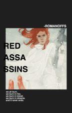 RED ASSASSINS ϟ NATASHA ROMANOFF  by -romanoffs